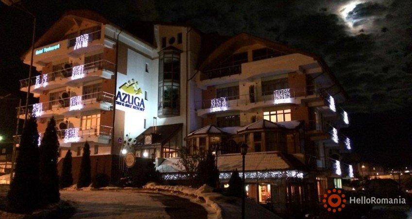 Vedere de ansamblu Hotel Azuga Ski & Bike Resort