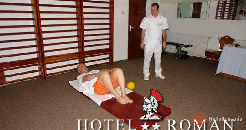 Vedere de ansamblu Hotel Roman
