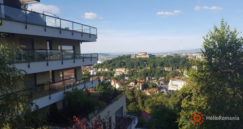 Vedere de ansamblu Apartament Bellevue Brasov