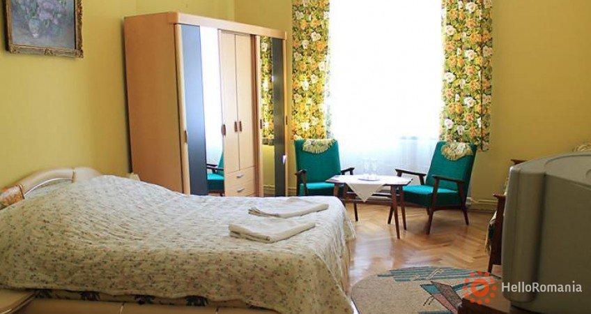 Vedere de ansamblu Pensiunea Casa Balcescu Brasov