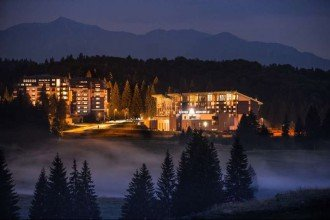 Vedere de ansamblu Silver Mountain Resort&Spa Brașov