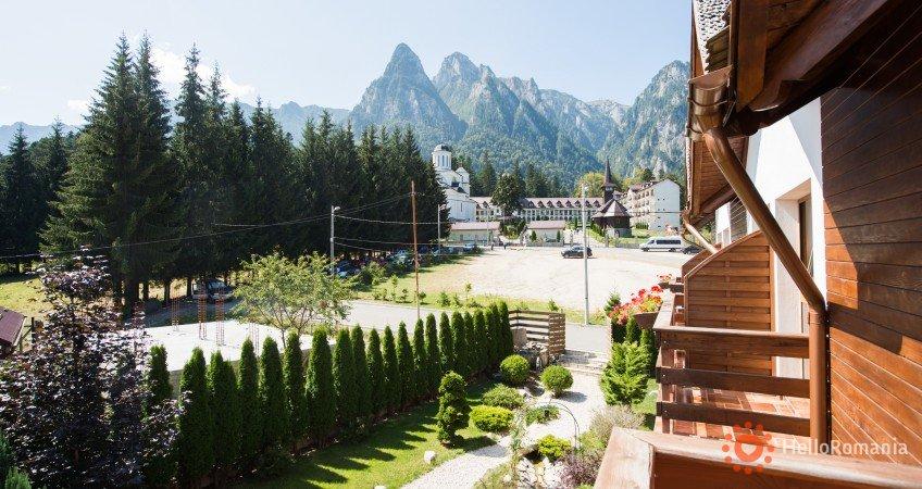 Vedere de ansamblu Villa Ermitage