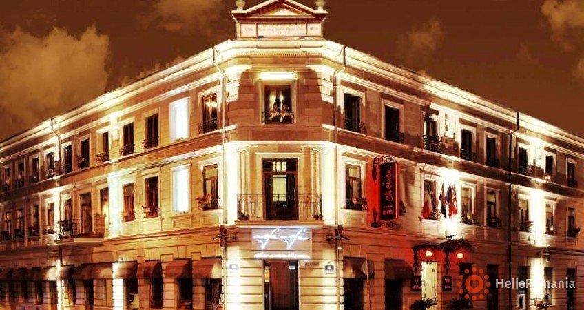 Vedere de ansamblu Hotel Cherica Constanta