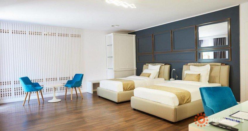 Vedere de ansamblu Lebada Luxury Resort & Spa Crișan