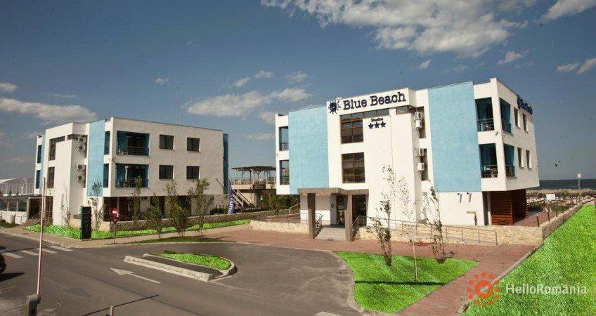 Vedere de ansamblu BLUE BEACH Studios Mamaia Nord
