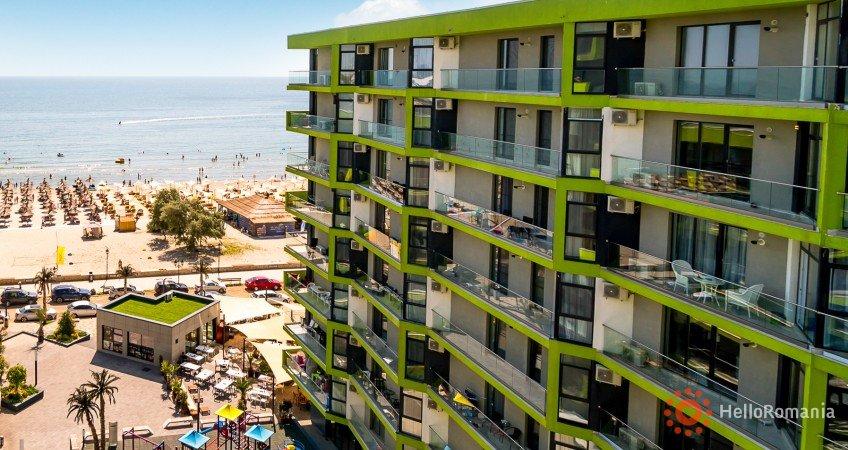 Vedere de ansamblu Alezzi Beach Mamaia-Sat