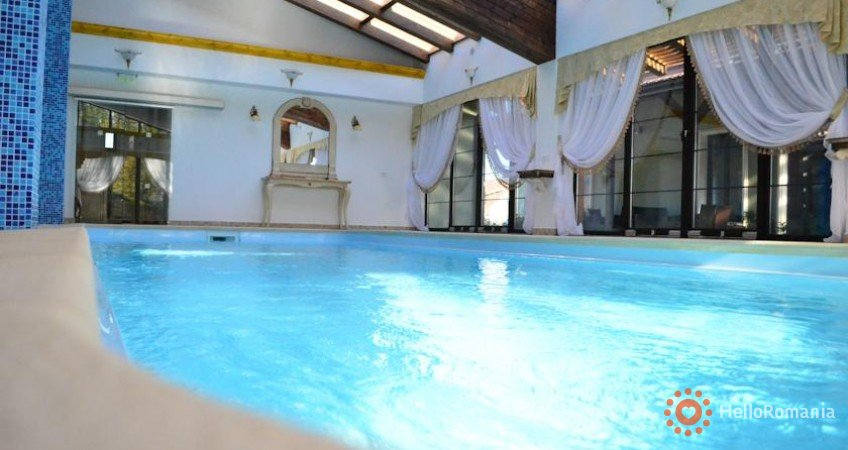 Vedere de ansamblu Hotel Emire Predeluț