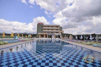 Vedere de ansamblu Hotel Romanita Recea