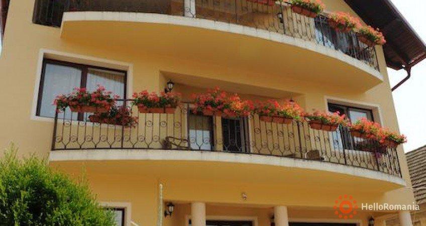 Vedere de ansamblu Pensiunea Casa Cu Flori