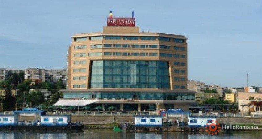 Vedere de ansamblu Hotel Esplanada