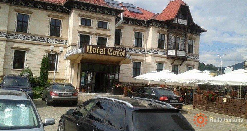 Vedere de ansamblu Hotel Carol Vatra Dornei