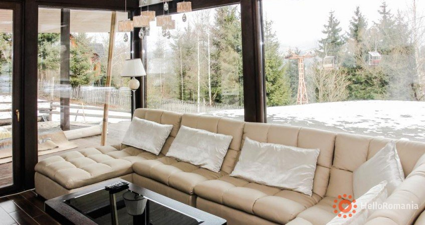 Vedere de ansamblu Alpine Lounge Vatra Dornei