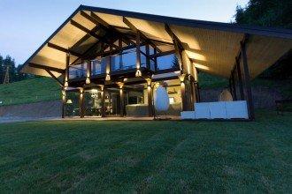 Vedere de ansamblu Pensiunea Alpine Lounge Vatra Dornei